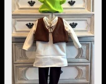 Shrek Inspired Costume, Ogre Costume