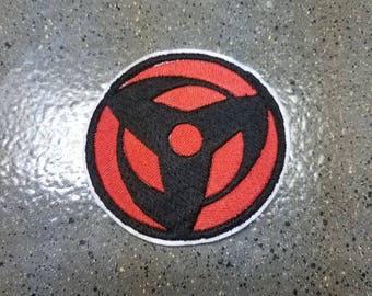 Naruto Kakashi Mangekyou Sharingan Sew on Patch