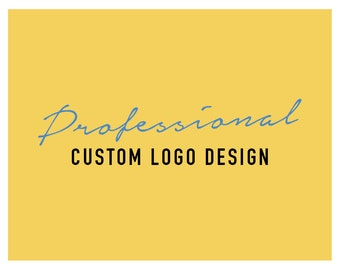 Custom Logo, Professional Business Logo Design, Small Business Branding, Bespoke Visual identity, Original Unique Logo, Custom Branding