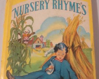 Nursery Rhyme Vintage Book