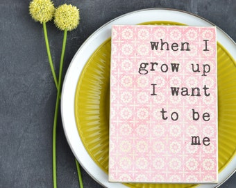 SALE: Pink Grow Up Sign. Little Girl Room Sign. Pink Wood Sign. Grow Up Sign. Pink Nursery Sign. Pink Wood Girl's Room Sign. Pink Decor.