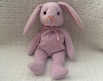 Beanie Baby, Ty Beanie Baby, Hoppity the Bunny, Bunny Plush, Bunnie Beanie Baby, Ty Bunny, Ty Babies, Plush Bunnies, Rabbits,Hoppity Ty Baby