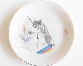 unicorn wallplate