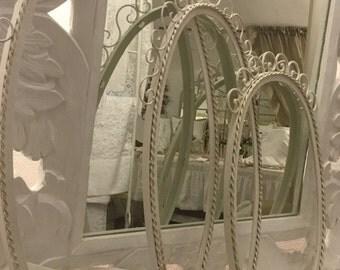 Art Nouveau mirror frame