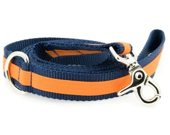 Sports Stripe Dog Leash - Matches My Personalized Sports Stripe Dog Collars
