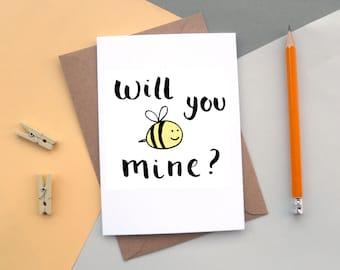 Bee mine? | Valentine's Day Card