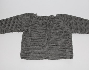 CROCHET COTTON JACKET