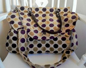 Large unique handmade handbag