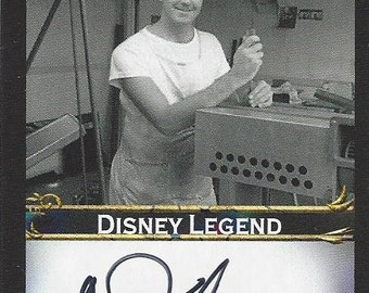 Disney Legend Donald Iwerks AUTOGRAPHED Custom Trading Card
