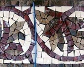 Leaf Mosaic Boarder Art