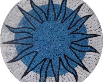Marble Medallion Mosaic - Sunna