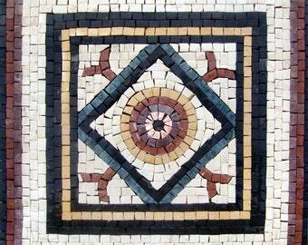 Geometric Stone Mosaic - Kusadasi