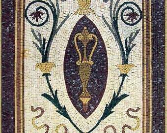 Rectangular Stone Mosaic - Senia