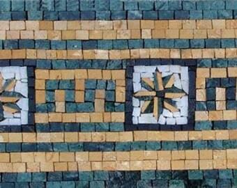 Stone Mosaic Border