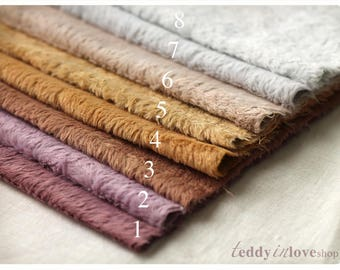 MAY collection 2017 Hand dyed Viscose Fabric a piece L 23 cm, W 34 cm ( L 8,5 inch, W 13,5 inch)