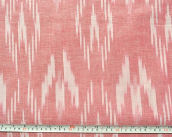 Top quality Pink Ikat Cotton Fabric Upholstery Fabric Homespun Fabric by the yard