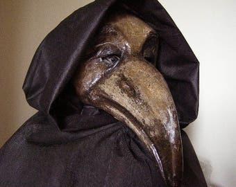 Plague doctor mask Masquerade mask Crow mask Raven mask Halloween mask Paper mache mask Bird masks