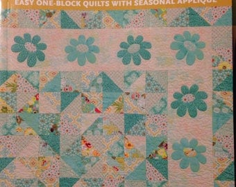 Patchwork Plus, Easy One-Block Quilts With Seasonal Appliqué by Geralyn J Powers, Paperback