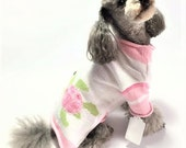 Dog SWEATER Small Upcycled Sea Turtle