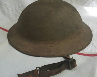 WWI US Dough Boy helmet