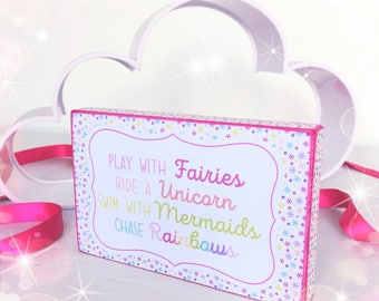 Play with fairies, ride a unicorn...