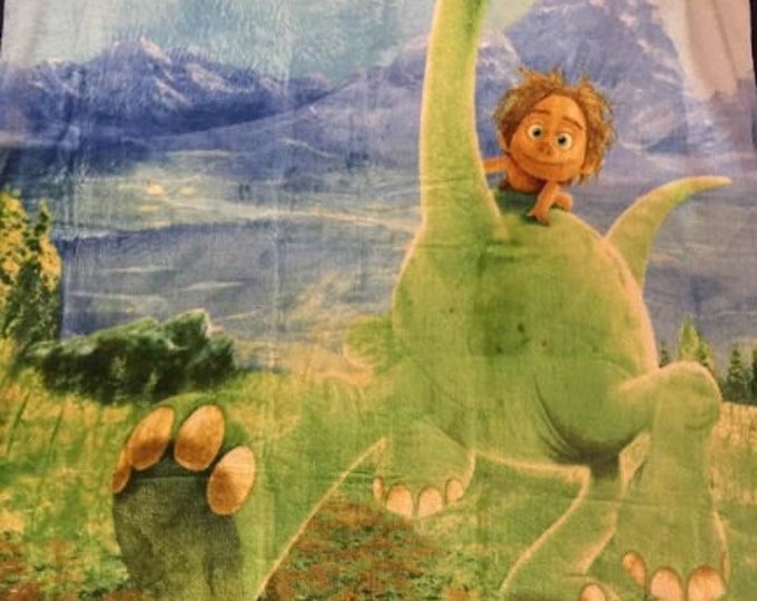 "The Good Dinosaur Silky Soft Fleece Throw Blanket 40"" x 50"" Personalized"