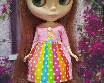 111 # Neo Colour Dotty Dress