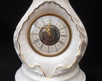 Belleek Clock. Belleek Ireland Clock