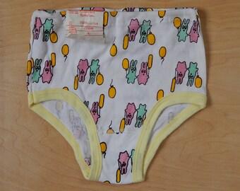 Soviet Girls Teenagers Vintage Underwear Unused Vintage Underwear  Underpants 100% Cotton Made in USSR era NOS Size SMALL