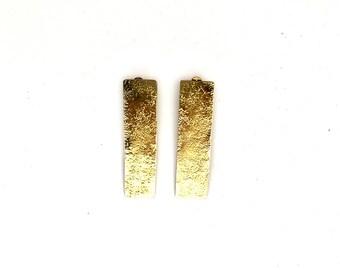 Clip on earrings,  earrings, Minimal earrings, Geometric jewelry, Geometric earrings, Boho earrings, Rectangular earrings, , boho earrings