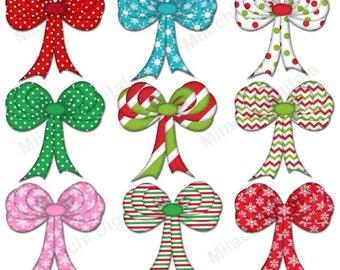 Red bow clipart Ribbon bows clip art Red ribbon clipart Diamond