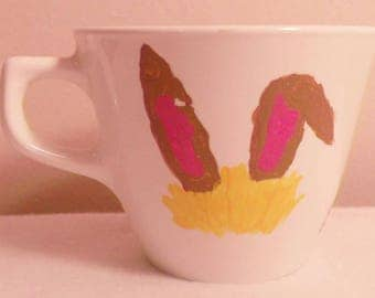 Alice in Wonderland Rabbit Tea Cup