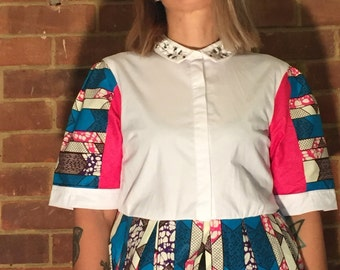 Upcycled ladies blouse