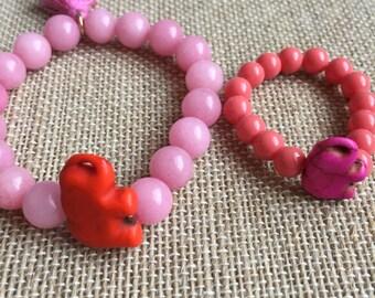 Doll and Me Bracelet Set