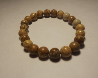 8mm Jasper Stretch Bracelet