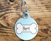 Dog name tag, pet name ta...