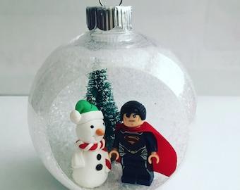 Lego Superman Ornament