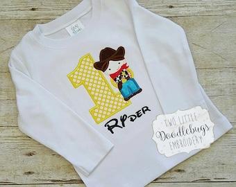Toy Story Woody Shirt-Cowboy Woody-Toy Story Shirt-Boys-Girls-Birthday Shirt-Disney Shirt-Sherrif Woody Toy Story Shirt