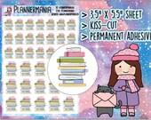 Planner Stickers Doodle Sticker Erin Condren Stickers Book Stickers School Stickers College Stickers Student Stickers Happy Planner 030