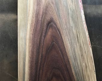 Live edge black walnut cutting board