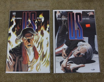 US Uncle Same #1 & #2 lot by Steve Darnall and Alex Ross