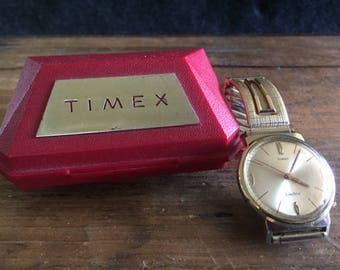 RARE Timex Electric rear adjust watch West Germany
