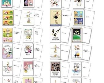 All Occasion Greeting Card Pack-  25 Cards - Birthday, Get Well and more