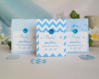 Personalized Tea Bag Party Favors / Tea Party Favors / Baby Shower Tea Bag  Favors /