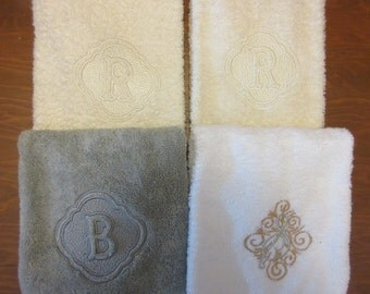 Sale on Select Monogrammed Hand Towels