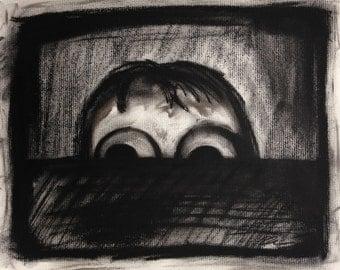 I'm Scared - Photo Print