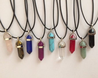 CHAKRA Natural Quartz Necklace