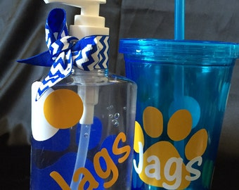 Southern University Tumbler and Hand Sanitizer Set