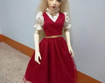 Dress / Coat / Clothes 1/3 Super Dollfie Dream SD BJD