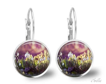 Earrings flowers spring 8